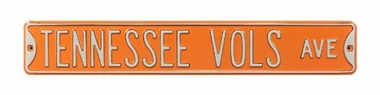 Tennessee Vols Ave Street Sign
