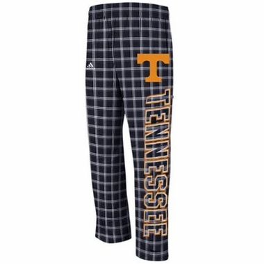 "Tennessee Volunteers Adidas ""Big Block"" Flannel Plaid Pants"