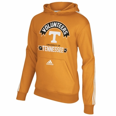 Tennessee Volunteers Adidas YOUTH 3-Stripe Hooded Sweatshirt
