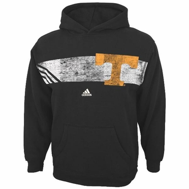 "Tennessee Volunteers Adidas YOUTH ""Striped Glory"" Vintage Hooded Sweatshirt"