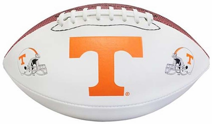 Tennessee Volunteers NCAA Baden Official Size White Panel Football