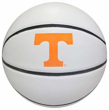 Tennessee Volunteers NCAA Official Size 1/2 White Panel Basketball