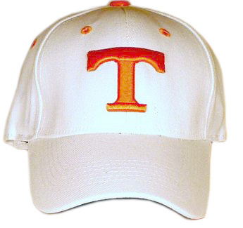 Tennessee White Premium FlexFit Baseball Hat