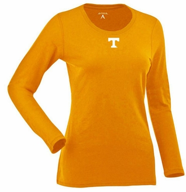 Tennessee Womens Relax Long Sleeve Tee (Team Color: Orange)