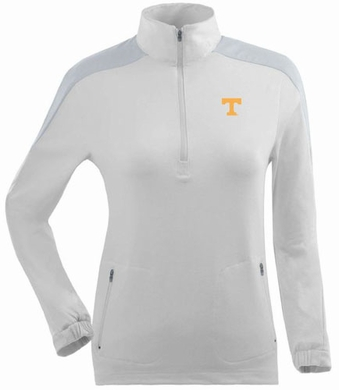 Tennessee Womens Succeed 1/4 Zip Performance Pullover (Color: White)