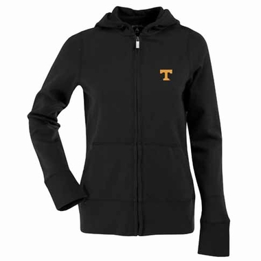 Tennessee Womens Zip Front Hoody Sweatshirt (Alternate Color: Black)