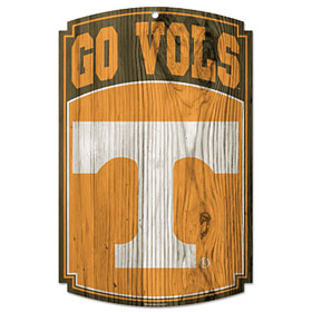 Tennessee Volunteers Wood Sign
