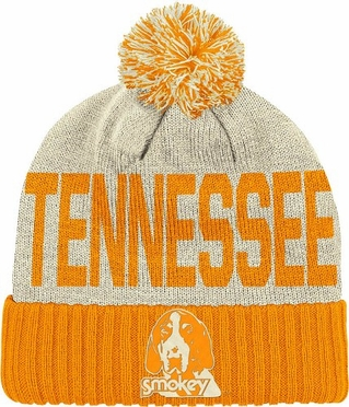 Tennessee Wordmark & Logo Pom Knit Hat