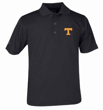 Tennessee YOUTH Unisex Pique Polo Shirt (Team Color: Black)