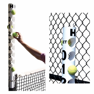 Tennis Score Tube-White