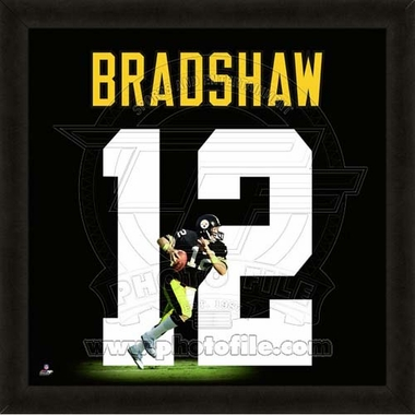 "Terry Bradshaw, Steelers UNIFRAME 20"" x 20"""