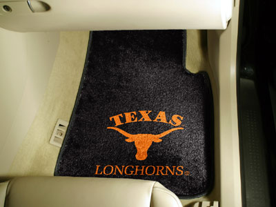 Texas 2 Piece Car Mats