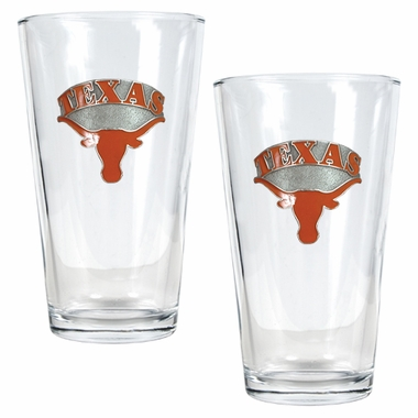 Texas 2 Piece Pint Glass Set