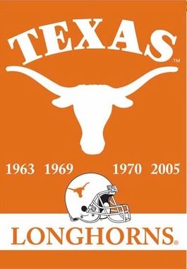 Texas 2 Sided Championship Banner (P)