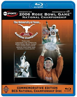 Texas 2006 Rose Bowl Blu Ray DVD