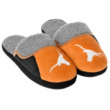 Texas 2012 Sherpa Slide Slippers