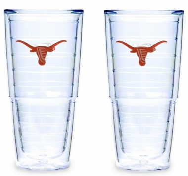 Texas 24 oz. Set of TWO 24 oz. Tervis Tumblers