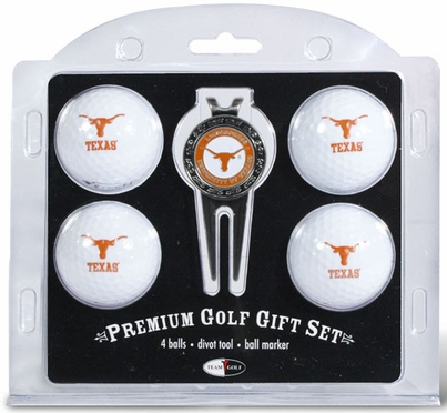 Texas 4 Ball and Tool Gift Set
