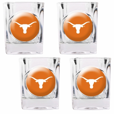 Texas 4 Piece Shot Glass Set