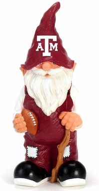 "Texas A&M Aggies Garden Gnome - 11"" Male"