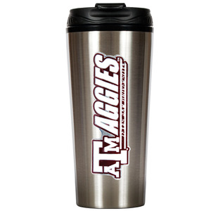 Texas A&M 16 oz. Thermo Travel Tumbler