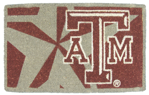 Texas A&M 18x30 Bleached Welcome Mat