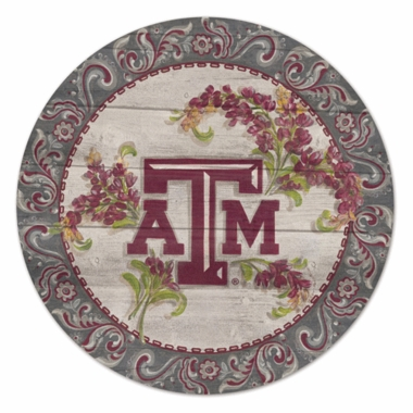 Texas A&M 19.75 Inch Wood Sign