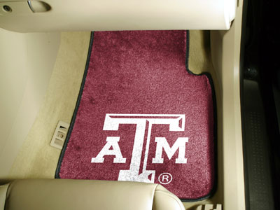 Texas A&M 2 Piece Car Mats