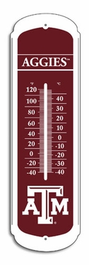 Texas A&M 27 Inch Outdoor Thermometer (P)