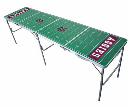Texas A&M 2x8 Tailgate Table