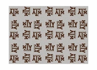 "Texas A&M 3'10"" x 5'4"" Premium Pattern Rug"