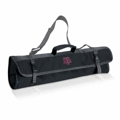 Texas A&M 3 Piece BBQ Tote (Black)