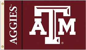 Texas A&M Aggies 3'x5' Flag