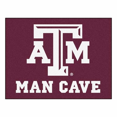 Texas A&M 34 x 45 Man Cave Rug
