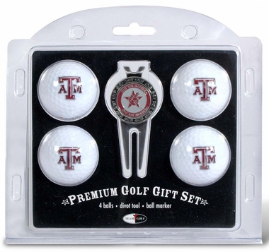 Texas A&M 4 Ball and Divot Tool Set