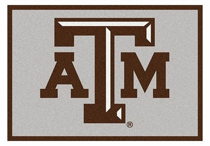 "Texas A&M 5'4"" x 7'8"" Premium Spirit Rug"