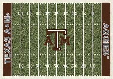 "Texas A&M 7'8"" x 10'9"" Premium Field Rug"