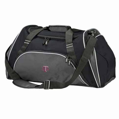 Texas A&M Action Duffle (Color: Black)