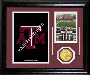 "Texas A&M Aggies Texas A&M University ""Fan Memories"" Desktop Photo Mint"