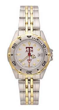 Texas A&M All Star Womens (Steel Band) Watch