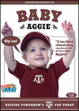 Texas A&M Baby Aggie DVD