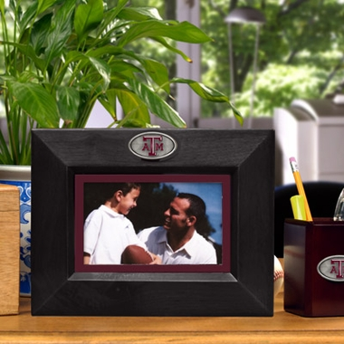 Texas A&M BLACK Landscape Picture Frame