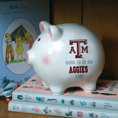 Texas A&M (Born to Be) Piggy Bank