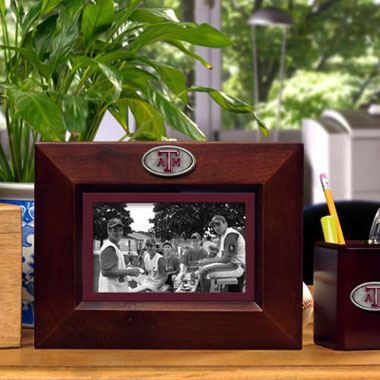 Texas A&M BROWN Landscape Picture Frame