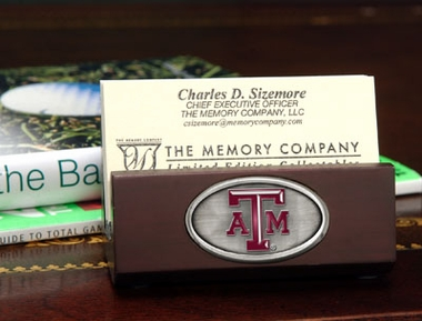 Texas A&M Business Card Holder
