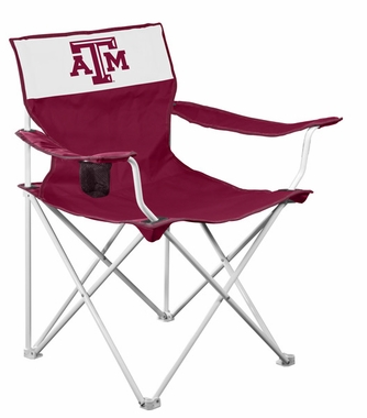 Texas A&M Canvas Adult Folding Logo Chair