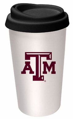 Texas A&M Ceramic Travel Cup