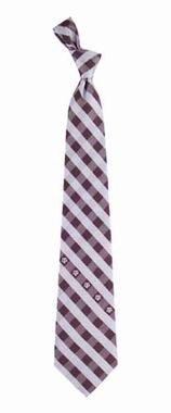 Texas A&M Check Poly Necktie