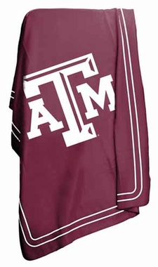 Texas A&M Classic Fleece Throw Blanket