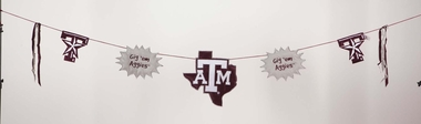 Texas A&M Clothesline Banner